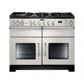 Rangemaster Excel 110cm Dual Fuel Ivory Cooker