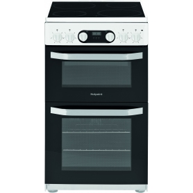 Hotpoint 50cm Electric Ceramic Double Oven