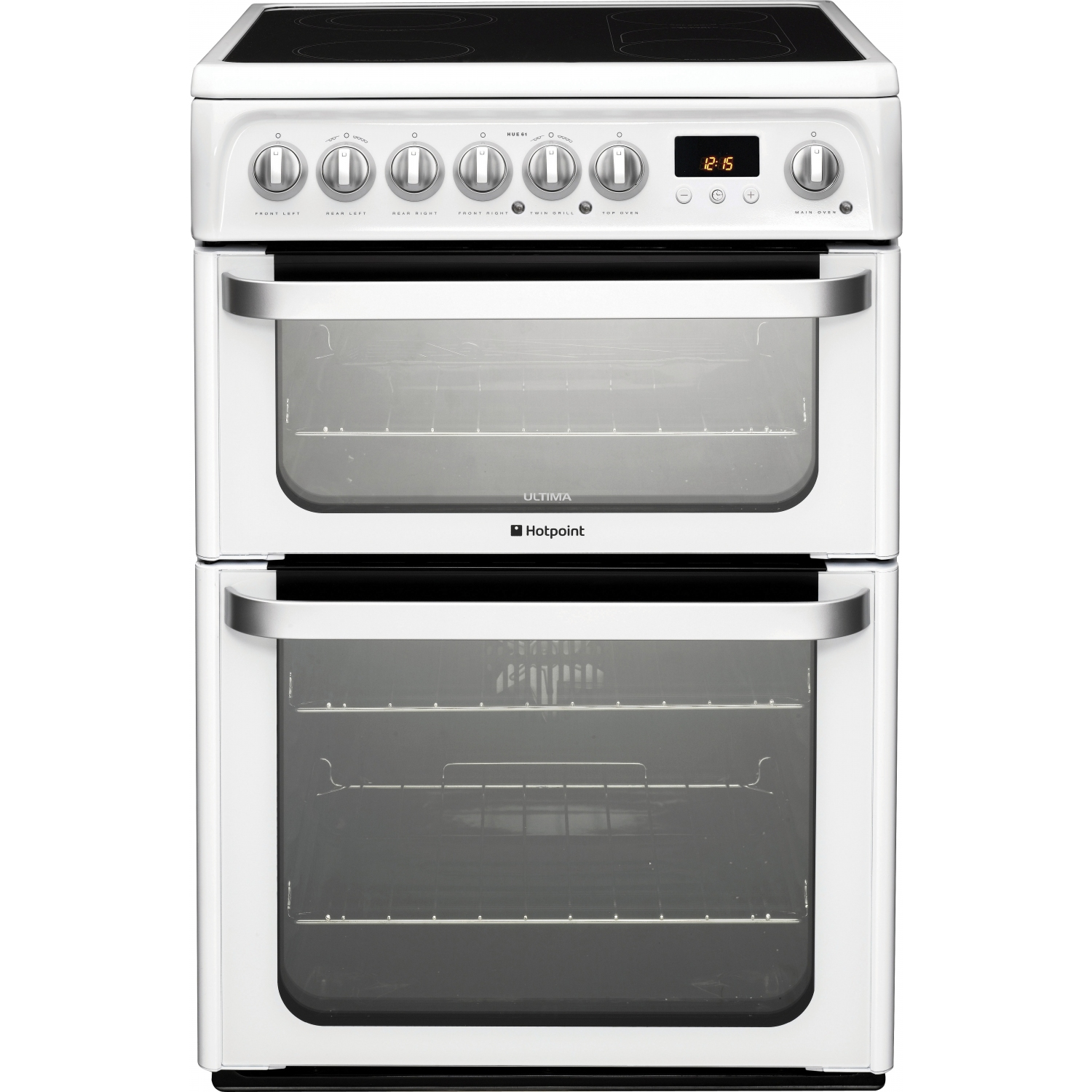 Hotpoint 60cm White Freestanding Electric Cooker - 0