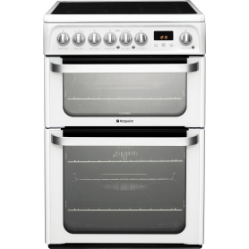 Hotpoint 60cm White Freestanding Electric Cooker