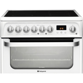 Hotpoint 60cm White Freestanding Electric Cooker - 2