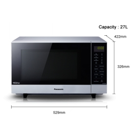 Panasonic 27L Flatbed 1000w Microwave - 2