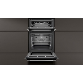 Neff Built In Double Oven With Pyrolytic Cleaning Display Model Only