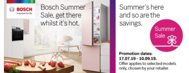 Bosch Summer Sale 2019