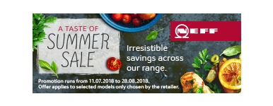 Neff Summer Saving 2018