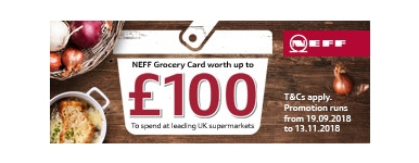 Neff Giftcard Promotion 2018