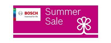 Bosch Summer Promotion.