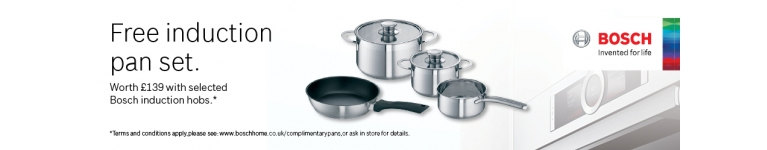 Bosch Free Induction Pan Set